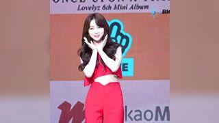 Lovelyz - Kei in her Red Radiance - K-pop