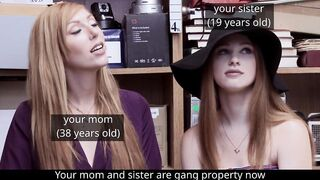 In gang-ran towns like yours, beautiful women like your mother and sister are often made gang property - Mommy and The Bully
