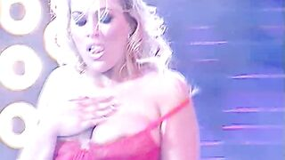 Daniela Blume Striptease and pouring water all over body Live on Stage - Nostalgia