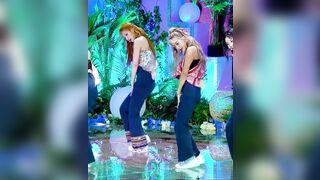Korean Pop Music: TWICE - Sana and Jihyo 2