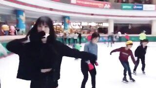 GFriend - Yuju: Skating on Instagram - K-pop