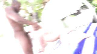 Kurwa Suka: Whooty Bailey Brooke Interracial Creampie