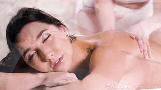 Scissoring massage with Karlee Grey
