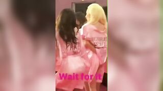 Gaga gets her ass groped at the 2016 Victoria's Secret Fashion Show - Lady Gaga's Ass