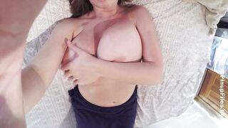 Teasing Her Own Nipples - Lana Kendrick