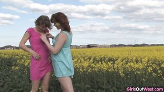 2 Of The Most Naturally Pretty Lesbos You Will Ever Watch.