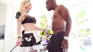 Blond maid and BBC, please help me find the link of full video!