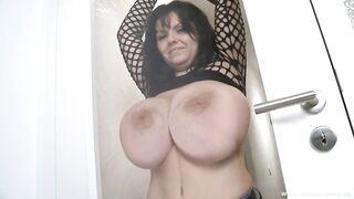 Milena Tits on Glass