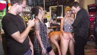 Anal Masters: Serbian Gal Degraded and Anally Fucked in Public