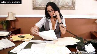Secretary doing extra hours